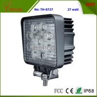 "Buy cheap Hot-Sell and Square 4"" 27W LED Work Light for Forklift, Bulldozer and Truck product"