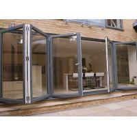 Buy cheap Heat Insulation Aluminium Folding Doors Corrosion Resistance With Insect Screen product