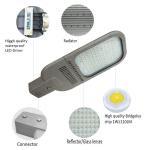 Buy cheap aluminium ultra slim optical lens led street light 150w product