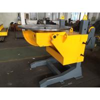 Buy cheap ISO 3 Axis Positioner Gear Tilt Welding Rotators Positioners 1200mm Table Diameter product