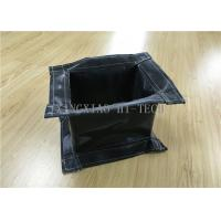 Buy cheap Rectangular Fireproof Flanged Expansion Joint Fabric High Temperature Resistant product