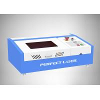 Buy cheap Working Area 300*200mm CO2 40W Small rubber stamp laser engraving machine product