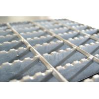 China Serrated Galvanized Steel Grating 1000*6000mm Painted Surface Treatment on sale