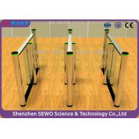 Buy cheap RFID Smart Fast - Speed Barrier Turnstile System with 304 stainless Steel Material from Wholesalers