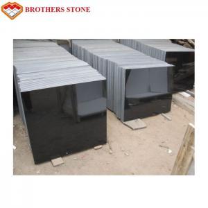 Buy cheap High Hardness Flamed Granite Stone Mongolia Black Granite For Slab Floor Tile product