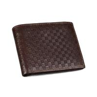 Buy cheap High-grade leather men's fashion casual short paragraph wallet wallet cowhide product