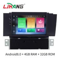 Buy cheap Double Din Android 8.0 Citroen Car Stereo Player AM FM Radio For Citroen C4L product
