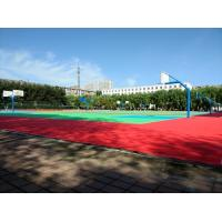 Buy cheap Stable Durable Suspended Interlocking Sports Flooring Anti Aging With Classic Pattern product