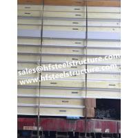 Buy cheap PU Insulation Panels For Cold Rooms , Cold Room Construction Refrigeration Panels product
