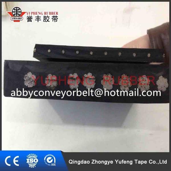 Quality mine,stone,sand cementsteel cord black rubber conveyor belt / belt conveyor for sale