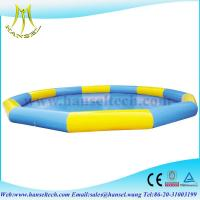 Buy cheap Hansel Commercial Grade Inflatable Water Pool For Water Ball Or Paddle Boats product