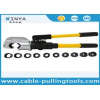 Buy cheap Hand Operated Hydraulic Crimping Tools for Crimping Copper / Aluminum Cable Lug product