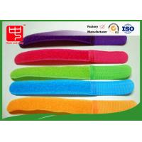 Buy cheap Colorful Male And Female Hook And Loop Cable Tie Roll For Manage Tie , Silk Printing product