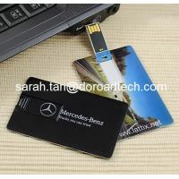 Buy cheap Plastic Credit Card USB Flash Drives product