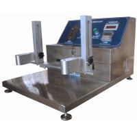 Buy cheap High Erosion Resistance Abrasion Testing Machine with 3 Testing Grips product