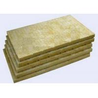 Buy cheap High Strengh Rigid Rockwool Insulation Boards Acoustic Insulation Materials Indoor / Outdoor product