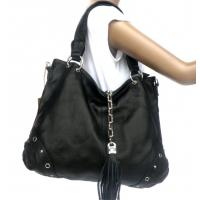 Buy cheap Factory Price 100%Real Leather Black Classic Tote Messenger Shoulder Bag #2287 product