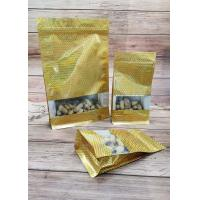 Buy cheap Golden Laser Window Opening Self Sealing Food Bags Can Stand Up Packaging product