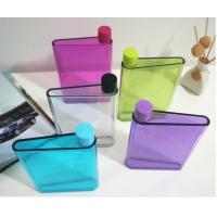 Buy cheap A5 notebook Water bottle ,A5 size Memo Plastic Sport water bottle,A5 flat water bottle product