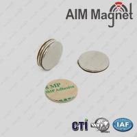 Buy cheap 3M Adhesive Disc Shape Neodymium Magnets product