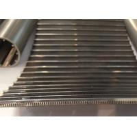 Buy cheap Plain Weave SS Wedge Wire Screen Panels Stainless Steel For Iron , Coal , Mining Industry from Wholesalers