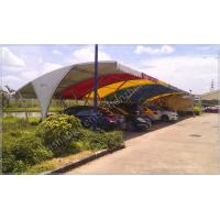 Buy cheap Outdoor Fabric Tent Structures Car Shed Parking Canopy Sunshade Construction from Wholesalers