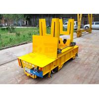 China PLC automatic controlturning rail ladle car for steel liquid or steel scrap on sale