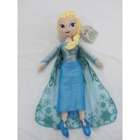 Buy cheap Blue Frozen Elsa Plush Doll Disney Princess Toys in 40cm 50cm Size product