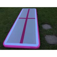 Buy cheap 5M Inflatable Sports Games Gym Mat Air Tumble Track For Outdoor Or Home Use product