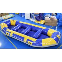 Buy cheap River Inflatable Rafting Boat / Inflatable Drift Boat With EN15649 Certificate product