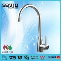 Buy cheap Single lever stainless steel kitchen mixer with long spout product