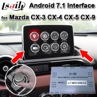 Buy cheap Android 7.1 Android Auto Interface for 2013-19 Mazda CX-3CX-4 CX-5 CX-9 support from wholesalers