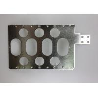 Buy cheap Multi Holes Tin Plated Copper Sheet / Custom Electrical Grade Copper Bar product