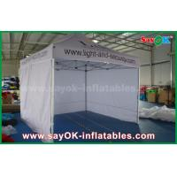 China White Promtional Aluminum Folding Tent  Canopy Tent for Advertising on sale