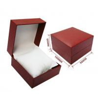 Buy cheap custom made high quality luxury bracelet jewelry cardboard paper board box with velvet pillow insert product