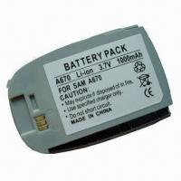Buy cheap Replacement Li-ion Cell Phone Battery for Samsung A670 product