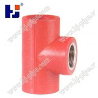 Buy cheap Plastic pipe fittings PPR reducer female thread tee product