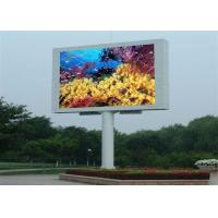 Buy cheap P10 High Definition electronic billboards advertising , simple structures product