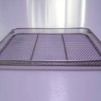 Buy cheap Square Round Edge Flat Mesh Basket product