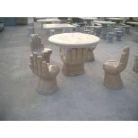 Buy cheap Stone Table And Bench product