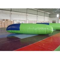 Buy cheap 0.9mm PVC Inflatable Jumping Toys Blob Water Launcher With EN14960 product
