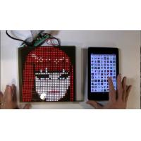 Quality SparkFun or Adafruit 32x32 RGB LED Panel Driver Tutorial 16 data signals connect + 5VDC refreshed to display an image for sale