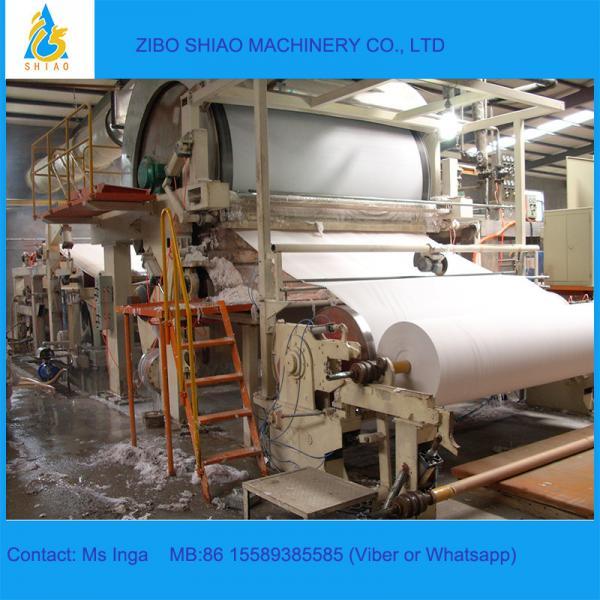 Quality Cylinder Paper Machine 2880/250 High Speed Tissue Paper Machine for sale