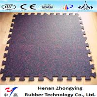 Buy cheap indoor gym durable interlocking rubber floor mats product