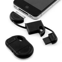 Buy cheap Brand New Fun & Discreet Keyring USB Sync and Charge data cable for iPhone iPod iPad black product