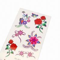 Buy cheap Tattoo Sticker for Promotional Purposes, Made of PVC, Measures 5 x 7cm product