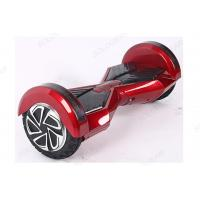 Buy cheap 8 Inch BT LED Self Balancing Vehicle , Red Adult Electric Scooter product