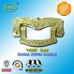 Buy cheap Ref H008 Gold Size 19 X 11 Cm Casket Handles , Zinc Alloy Coffin Accessories product