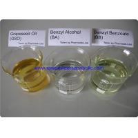 Buy cheap Safe Pharmaceutical Raw Material Benzyl Alcohol BA Benzyl Benzoate BB Grapeseed Oil GSO product