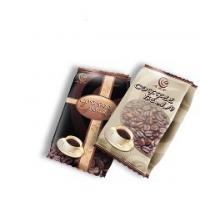 coffee bag 250g. 500g, 1kg, 2kg and 3kg Color: Silver, Gold, Black, natural Paper finish, Black with clear front
